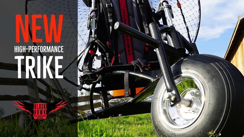 BlackHawk Paramotor Lite Trike For Powered Paragliding