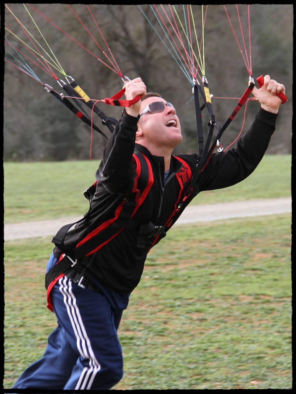 Powered Paragliding Lessons BlackHawk Paramotors