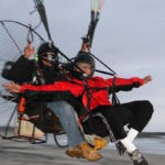 Flying TANDEM in a Paramotor or Powered Paraglider!