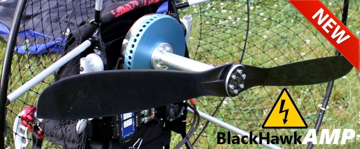 BlackHawk AMP Electric Paramotor