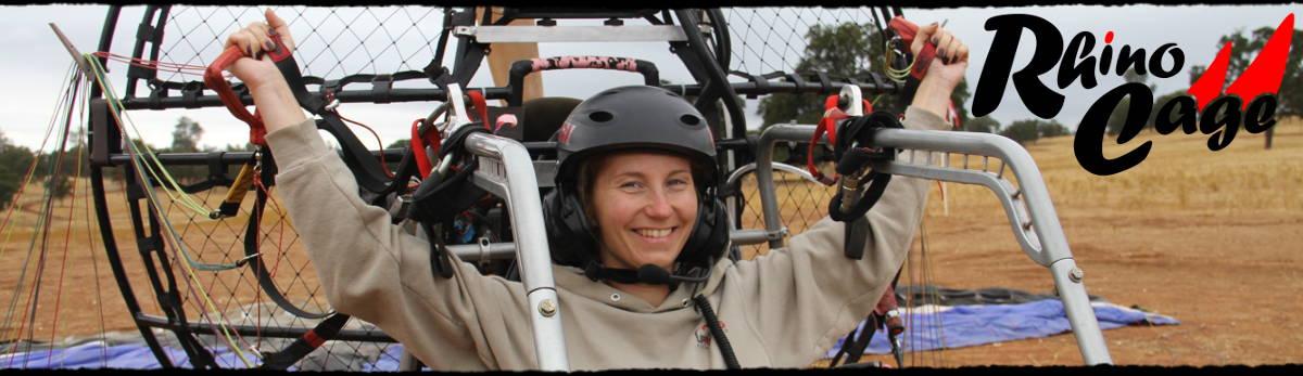 BlackHawk Paramotor Rhino Cage For Powered Paragliding