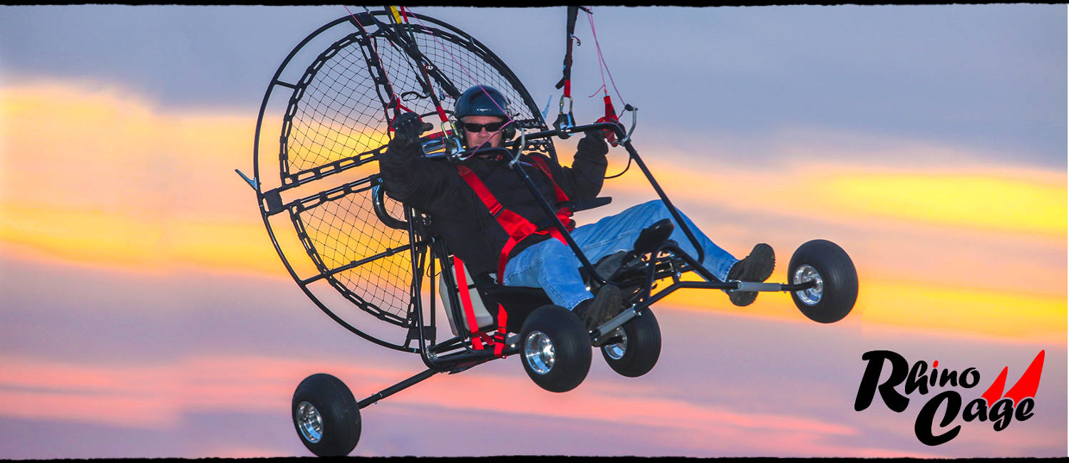 BlackHawk Paramotor Rhino Cage Frame For Powered Paragliding