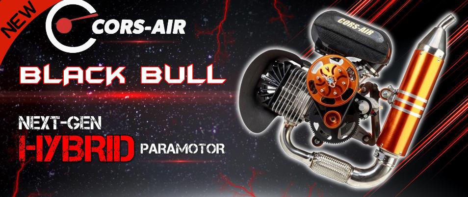 Cors Air Black Bull Paramotor By BlackHawk USA