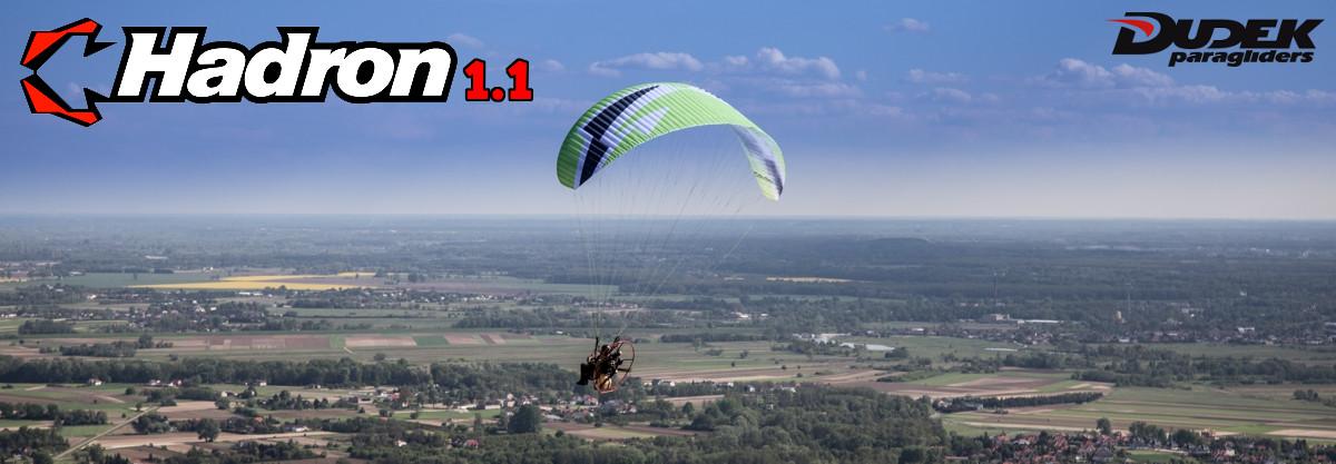 Dudek Hadron 1.1 Paraglider For Paramotor & Powered Paragliding
