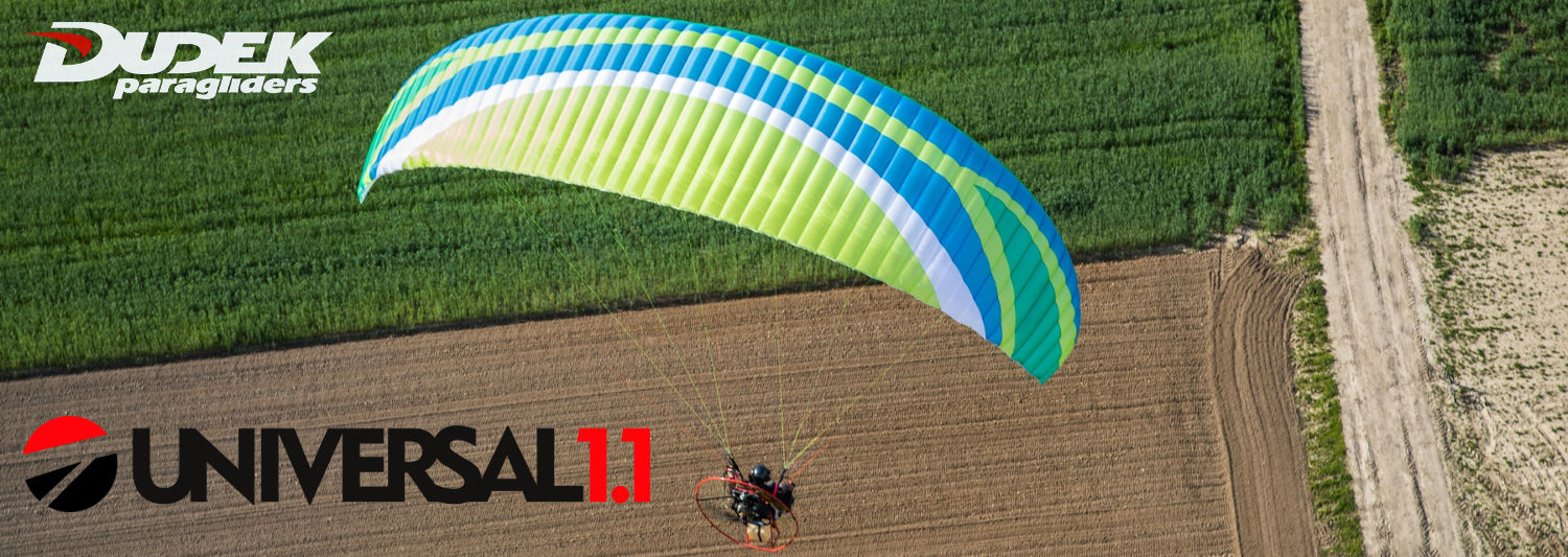 Dudek Universal 1.1 Paraglider For Powered Paragliding & Paramotor