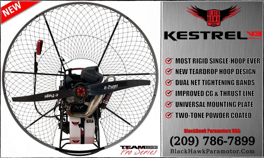BlackHawk Paramotor Kestrel V3 Cage / Frame