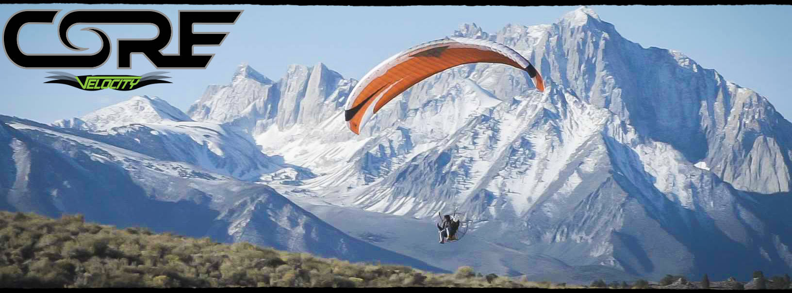 Velocity Core Paraglider For Powered Paragliding - From BlackHawk Paramotors USA