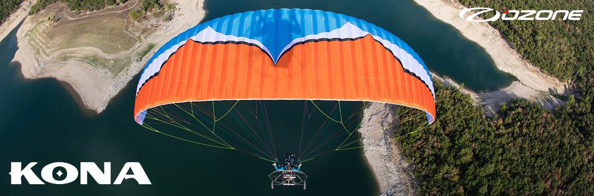 Ozone Kona Paraglider For Paramotor & Powered Paragliding USA Dealer