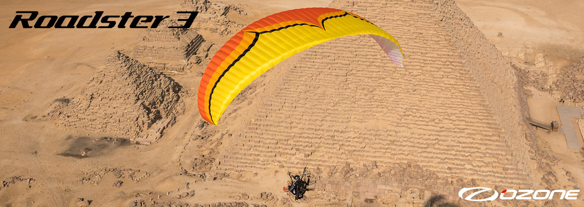 Ozone Roadster 3 Paraglider For Paramotor & Powered Paragliding