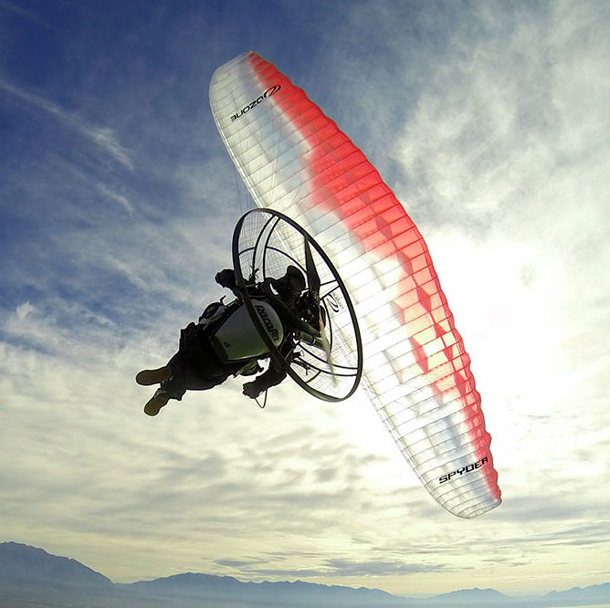 Ozone Spyder Paraglider For Powered Paragliding Paramotor Buy Online Store